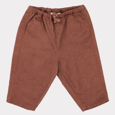 Baby Trousers Vulture Nutmeg by Caramel
