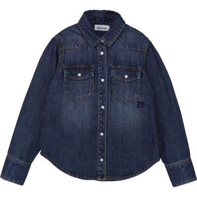 Jean Shirt Rea Dark Blue by Zadig & Voltaire