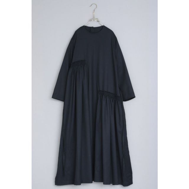 Wool Dress Dalia by Ecole de Curiosites