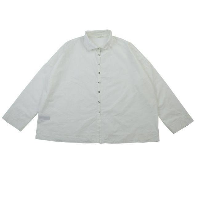 Short Collar Shirt Milk by Album di Famiglia