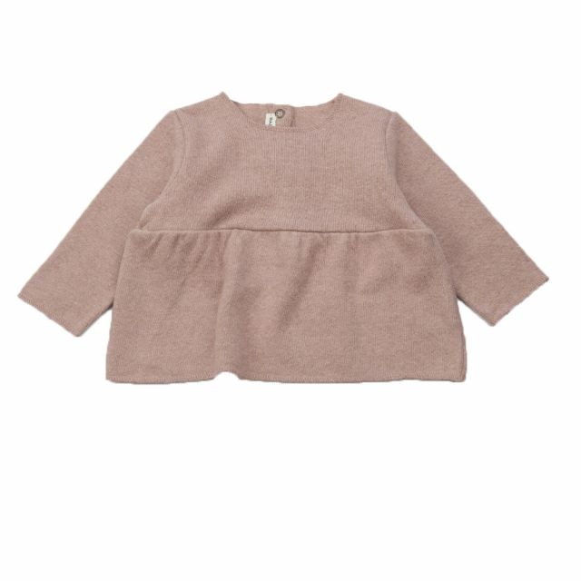 Soft Jersey Baby Top Rose