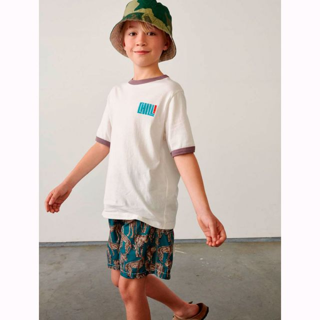 Cotton T-Shirt Kini Vintage White by Bellerose