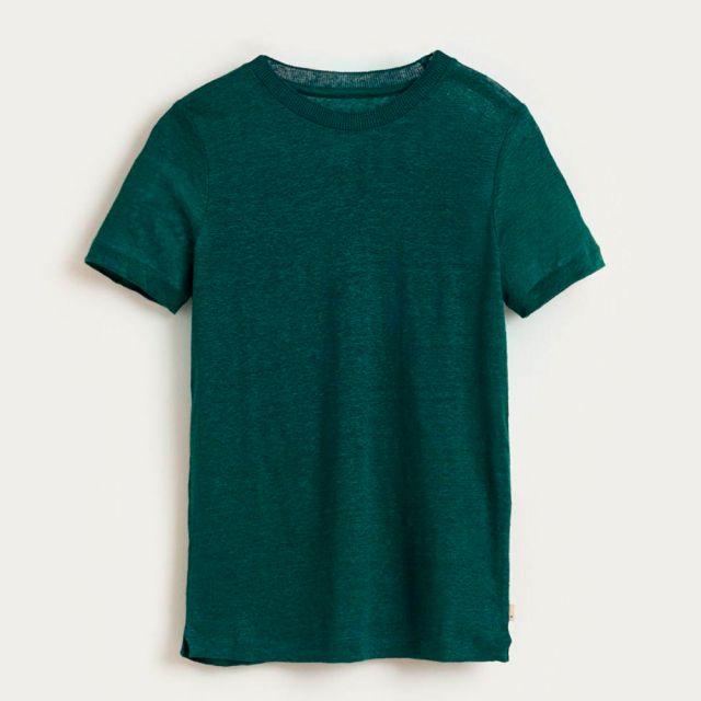 Linen T-Shirt Mogo Pacific by Bellerose