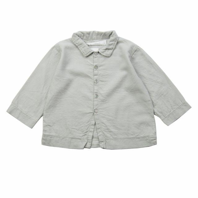 Soft Canvas Baby Shirt Martino Oatmeal