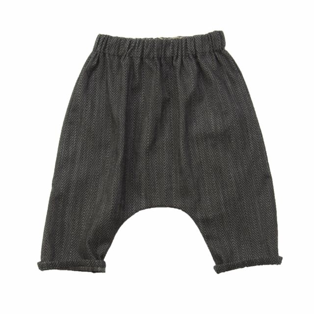 Baby Trousers Piri Mini Herringbone