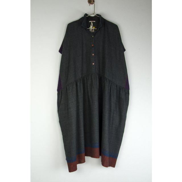 Wool Collar Dress by Pero