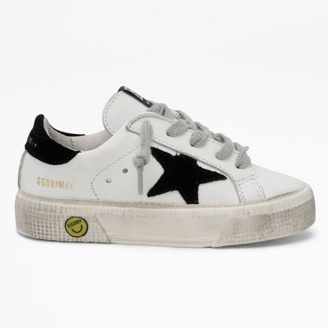 Sneakers May Leather Upper Suede Black Star