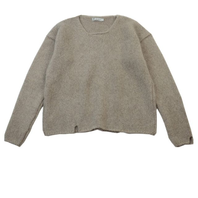 Cashmere Pullover Iry Earth by Manuelle Guibal