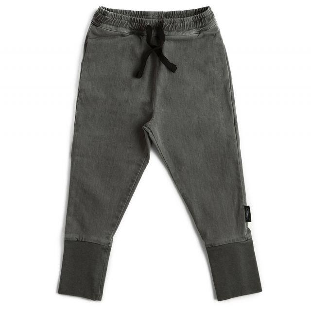Vintage Sweatpants Dark Grey Dyed by Nununu